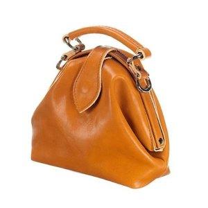 Mutsaers Leather ladies bag - The Vesper - Camel