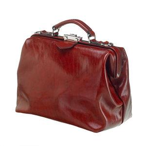 Mutsaers Leather ladies bag - Dr. Apple - Chestnut