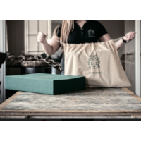 Mutsaers Leather Laptop Bag - The Classic - Black Croco