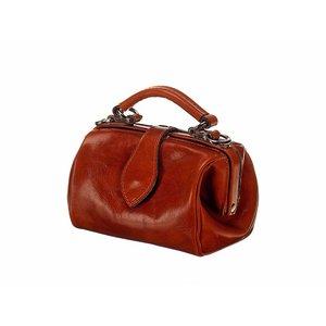 Mutsaers Leather Ladies Bag - Miss Doctor - Chestnut