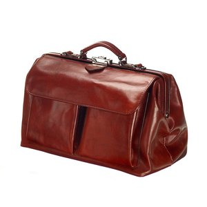 Mutsaers Leather Doctor's Bag - The Doctor - Chestnut