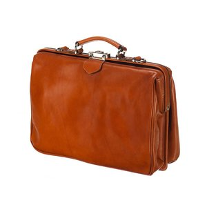 Mutsaers Leather Laptop Bag - The Classic - Cognac