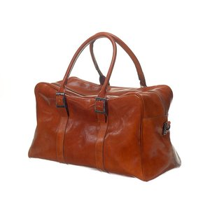 Mutsaers Weekend bag - The Traveler - Cognac