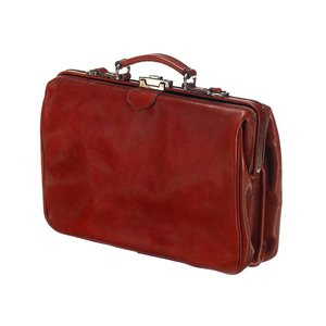 Mutsaers Leather Laptop Bag - The Classic - Chestnut