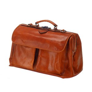 Mutsaers Leather Doctor's Bag - The Doctor - Cognac