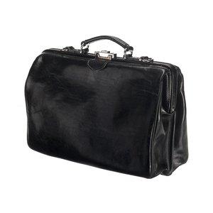 Mutsaers Leather Laptop Bag - The Classic - Black