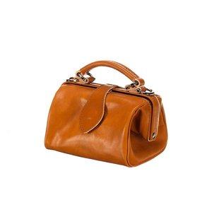 Mutsaers Leather ladies bag - Miss Doctor - Camel