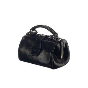 Mutsaers Leather ladies bag - Miss Doctor - Black