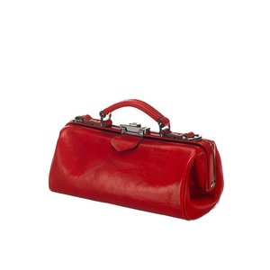Mutsaers Leather ladies bag - The Volpe - Red
