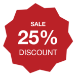 Special discount of 25% on brand new boots