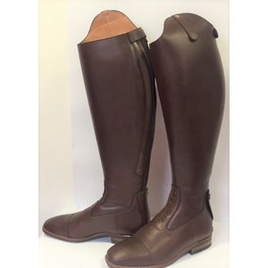 Petrie Jumping Boots (laced) 25% discount J507-7.5 Petrie Aberdeen laced riding boot with elastic section  brown size 7.5 50-46.5 custom made