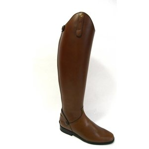 Petrie Zipper Boots (at the back) 25% discount Z434-6.0 Petrie Dublin brown rind leather UK 6.0 47-35 series 8 HE