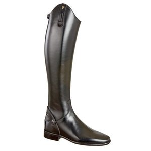 Petrie Zipper Boots (at the back) 25% discount Z470-6.5 Petrie Dublin black rind leather UK 6.5 48-43 custom made
