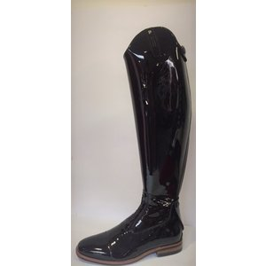 Petrie Jumping Boots (laced) 25% discount J488-7.0 Petrie Aachen in black patent leather 7.0 49-37 series 7 XXLW