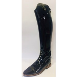 Petrie Jumping Boots (laced) 25% discount J489-7.0 Petrie Aachen in black patent leather 7.0 51-38 custom made