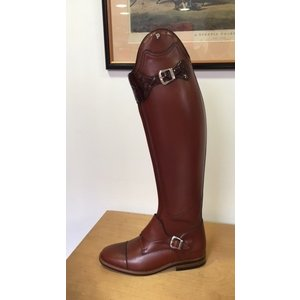 Petrie Polo Boots 25% discount P528-9.5 Petrie Polo Rome cognac calf leather in UK 9.5 55-48 custom made