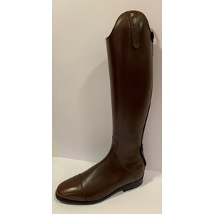 Petrie Zipper Boots (at the back) 25% discount Z601-9.5 Petrie Dublin brown rind leather UK 9.5 47-36 custom