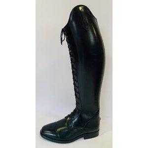 Petrie Rijlaarzen P803-4.0 Petrie Milaan rijglaars met vetersluiting zwart UK size 4.0 45-36