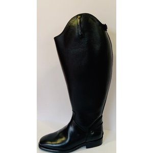Petrie Zipper Boots (at the back) 25% discount Z475-6.0 Petrie Leeds with elastic section black rindleather UK 6.0 47-51.5-50.0 custom