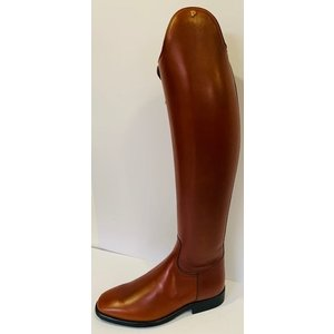 Petrie Dressage Boots 25% Discount D734-5.0 Petrie Sublime Dressage in cognac calf leather size UK 5.0 49-37 series 7 XXLW