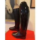Petrie Dressage Boots 25% Discount D005-3.5 Petrie Anky Elegance dressage in black patent calf leather UK size  3.5 L37 R36