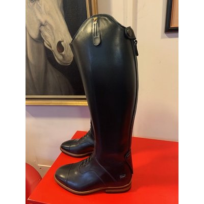 Petrie Jumping Boots (laced) 25% discount J001-4.0  Petrie Coventry blue  calf leather, UK 4.0 45.5 37-35.5