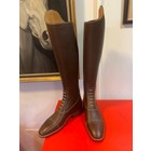 Petrie Jumping Boots (laced) 25% discount J004-5.0  Petrie Coventry med. brown  calf leather, UK  5.0 47-35 XHE