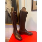 Petrie Polo Boots 25% discount P011-5.5 Petrie Athene Polo black med. brown calf leather UK size 5.5 45.5-34.5-33