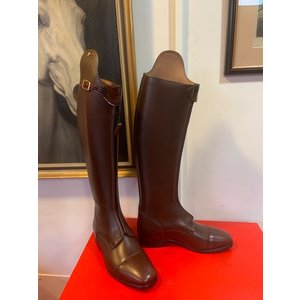 Petrie Polo Boots 25% discount P011-3.5 Petrie Athene Polo black med. brown calf leather UK size 3.5 43-36-33.5