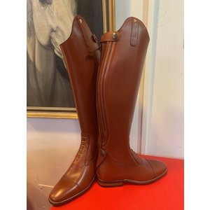 Petrie Jumping Boots (laced) 25% discount J005-5.0 Aberdeen laced riding boot with elastic section  cognac calf leather UK 5.0 47-35 XHE
