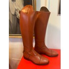 Petrie Zipper Boots (at the back) 25% discount Z008-7.0  Petrie Sportive in cognac calf leather UK size 7.0 L37-R38 -35