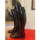 Petrie Zipper Boots (at the back) 25% discount Z009-6.0  Petrie Sportive in black calf + honeycomb shaft UK size 6.0 47-40.5-35