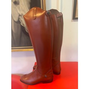 Petrie Zipper Boots (at the back) 25% discount Z014-6.5 Petrie Leeds  cognac rindleather with an elastic section  UK 50-36 XXHE