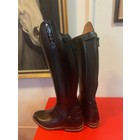 Petrie Zipper Boots (at the back) 25% discount Z009-4.0 Petrie Leeds  black rindleather with an elastic section  UK 4.0 42-36
