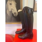 Petrie Boots J014-39 Petrie Trento black  Ridingboot with and top-cuff honeycomb  EU39 49-36L