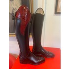 Petrie Zipper Boots (at the back) 25% discount Z013-4.0 Petrie Stockholm in black calf leather and honeycomb cuff  UK 4.0 45-34 HE