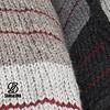 Patchwork Kapuzenjacke aus Schafwolle in Naturfarben fÌÎ_r MÌÎ_nner oder Unisex