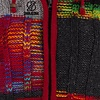 Rib Patchwork Multicolor, with knitted ribs