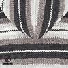 Pilgrim Natural handgestrickte Kapuzenjacke fÌÎ_r Damen in moderner Graufarbkombination