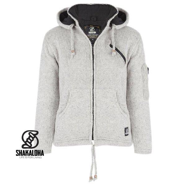 Shakaloha Crush Ziphood Sheep Wool Jacket with detachable hoody