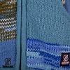 Shakaloha Patchwork Aqua blaue Wolljacke fÌÎ_r Damen und Herren