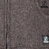 Shakaloha Flash Collar dunkelbraune Strickjacke mit Stehkragen fÌÎ_r Damen und Herren