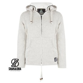 Shakaloha Flash Ziphood Jacket Beige
