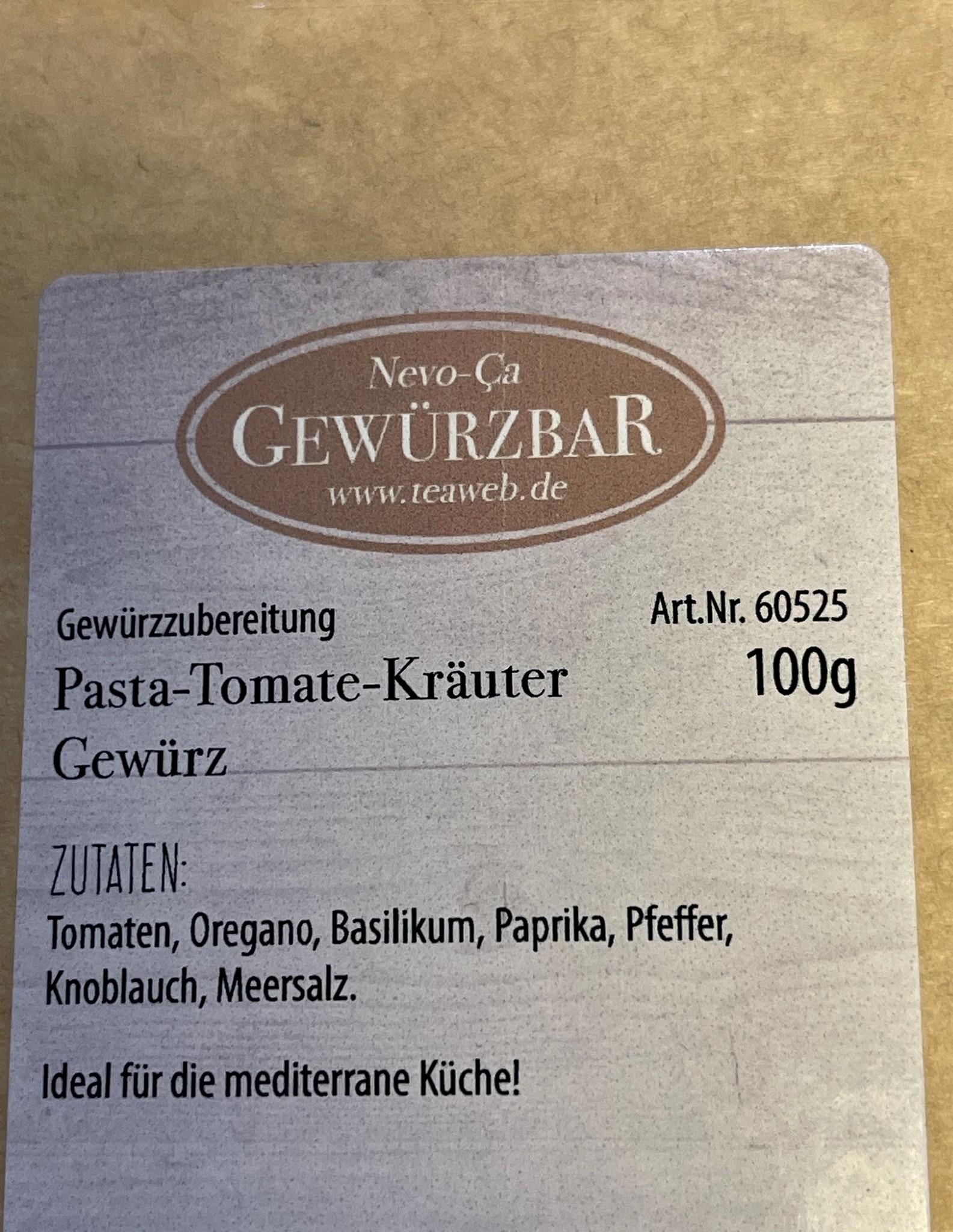 Pasta-Tomate-Kräuter Gewürz