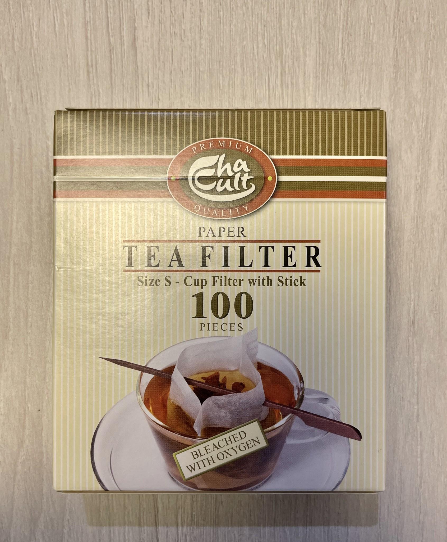 Papier Teefilter Größe S
