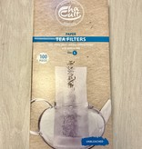 Papier Teefilter mit Einfülllasche L