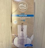 Papier Teefilter mit Einfülllasche M