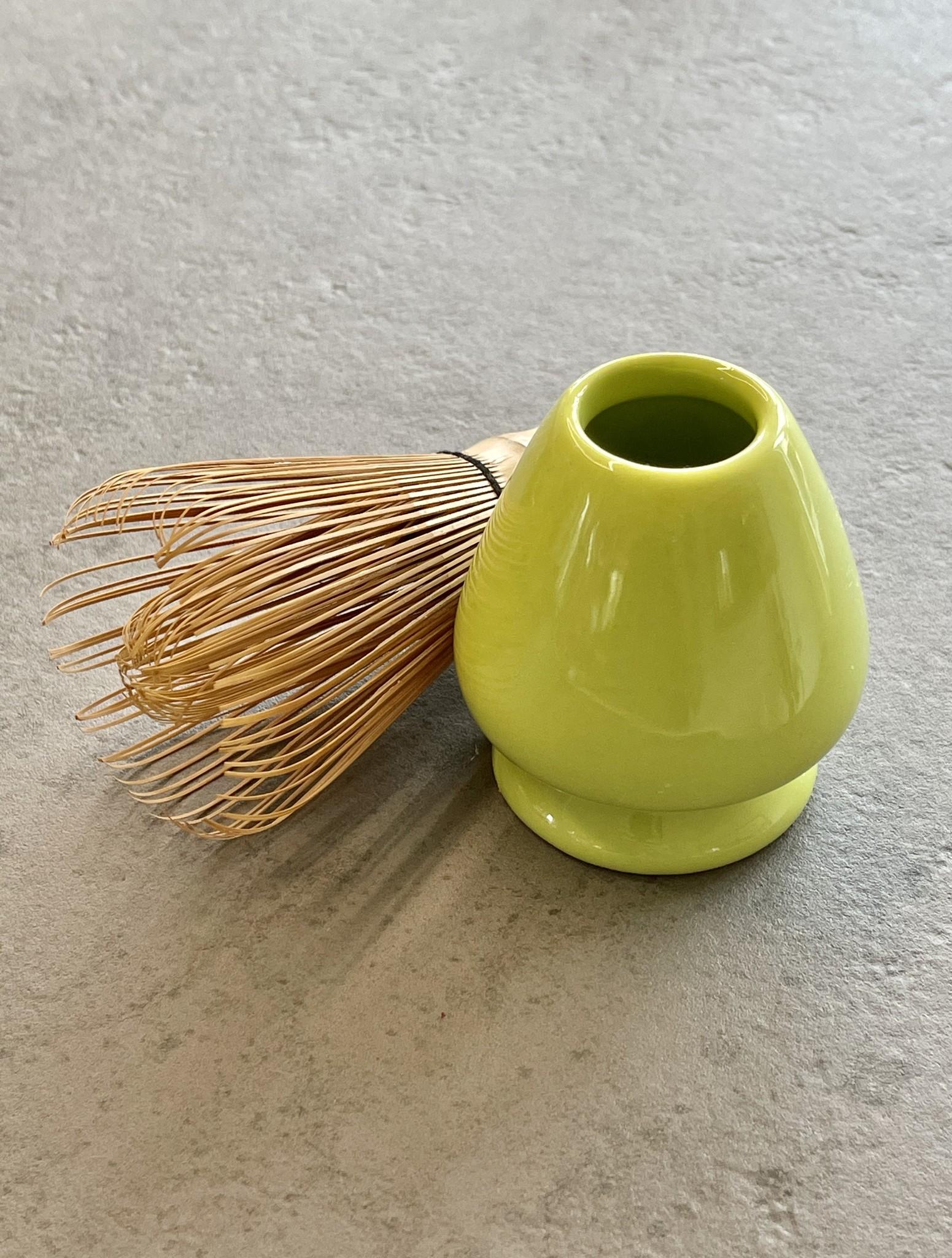 Matcha Besenhalter (aus Porzellan)