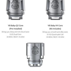 SMOK TFV8 Baby Turbo Engines Replacement Coils