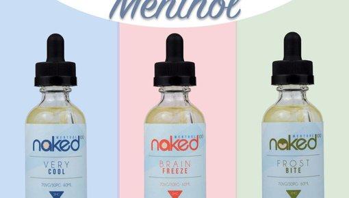 Menthol E-Liquid Flavors Kollektion